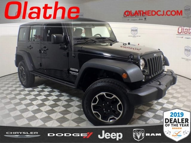 Certified Pre Owned 2015 Jeep Wrangler Unlimited Sport Sport Utility