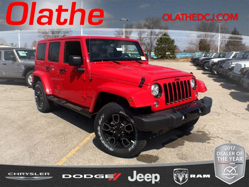 Attractive New 2018 JEEP Wrangler Unlimited Altitude