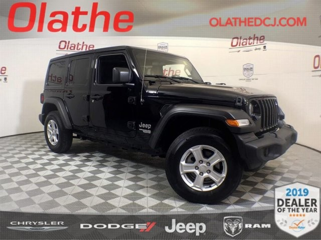 Certified Pre-Owned 2020 Jeep Wrangler Unlimited Sport S