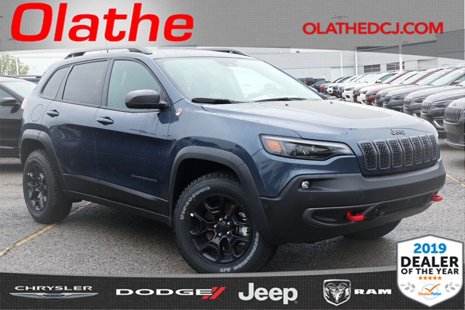 New 2019 JEEP Cherokee Trailhawk Elite