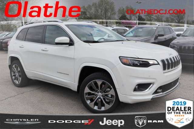 Jeep Cherokee Overland >> New 2019 Jeep Cherokee Overland Sport Utility In Olathe Kd431228