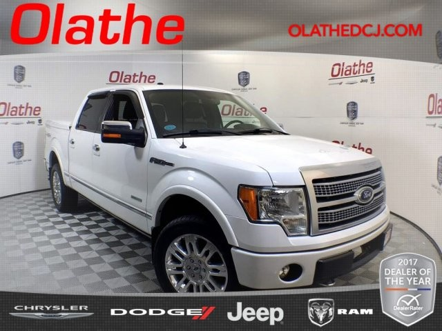 Pre Owned  Ford F  Platinum