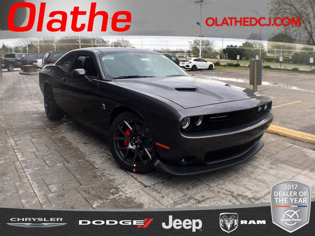 new 2018 dodge challenger t a 392 coupe in olathe jh283967 olathe dodge chrysler jeep ram. Black Bedroom Furniture Sets. Home Design Ideas