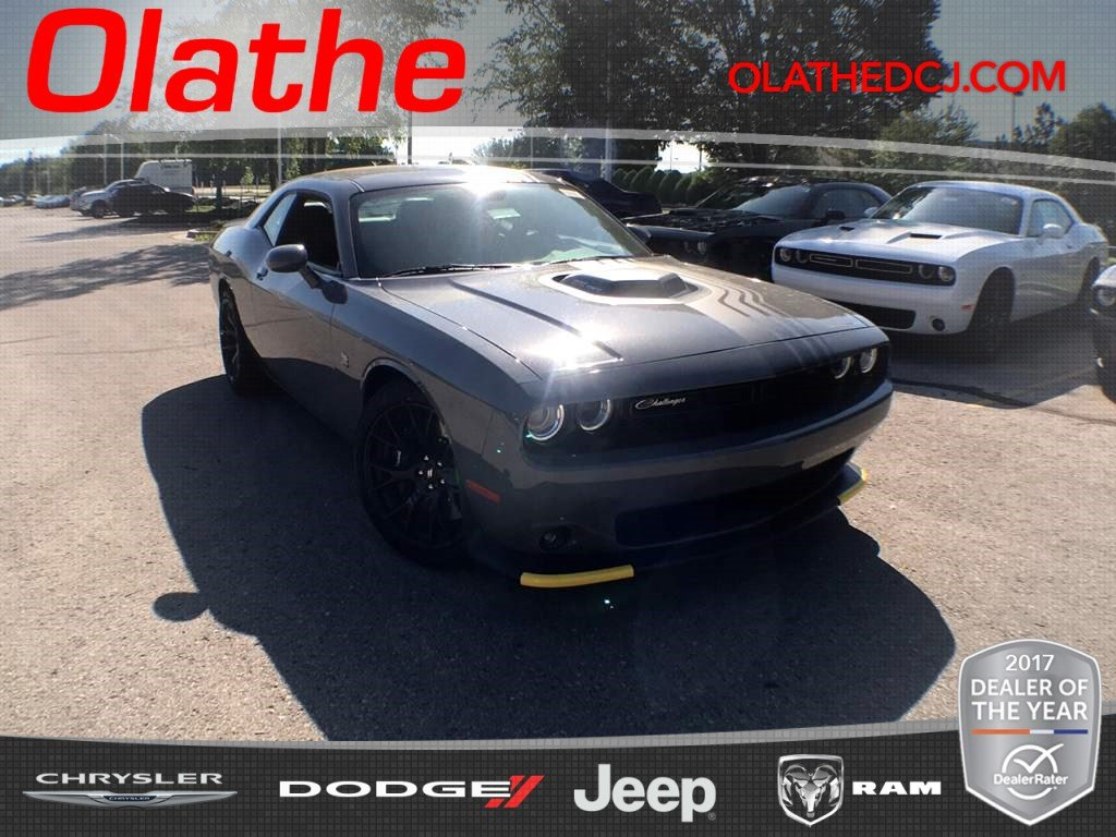 New 2018 Dodge Challenger 392 Hemi Scat Pack Shaker Coupe In Olathe