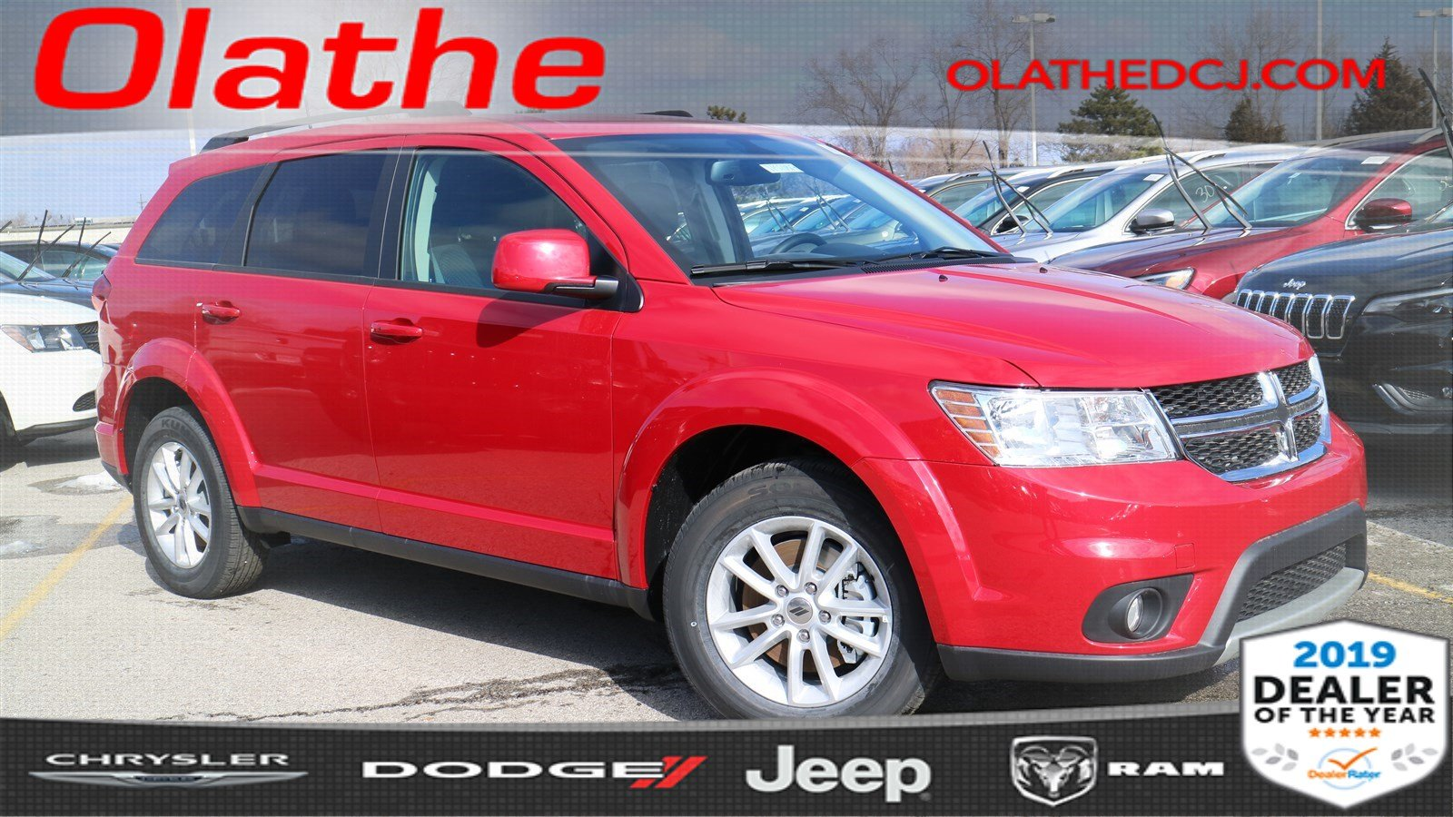 New 2018 Dodge Journey Sxt Sport Utility In Olathe Jt521817
