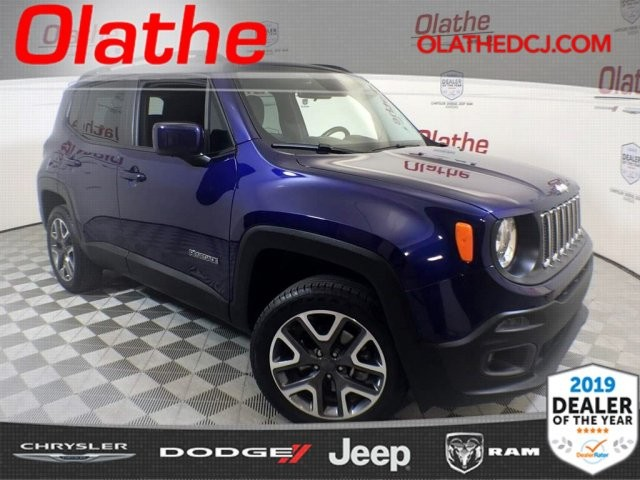 Certified Pre Owned 2017 Jeep Renegade Laude
