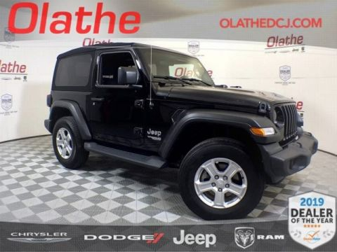 Certified Pre-Owned 2019 Jeep Wrangler Sport S