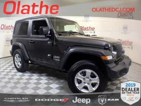 Certified Pre-Owned 2018 Jeep Wrangler Sport S